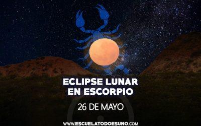 Astrología: ¿Cómo va a influir en su vida el Eclipse Lunar de mañana 26 de mayo de 2021?