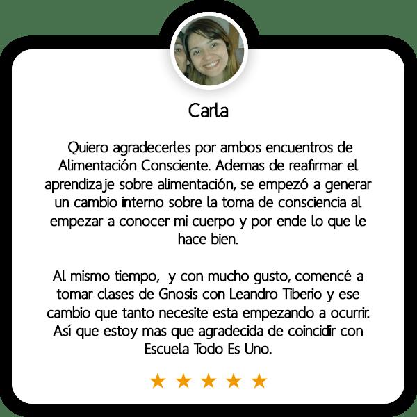 Carla - Estudiante Todo Es Uno - Gnosis