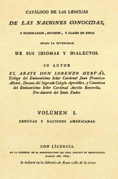 Catálogo de las lenguas*