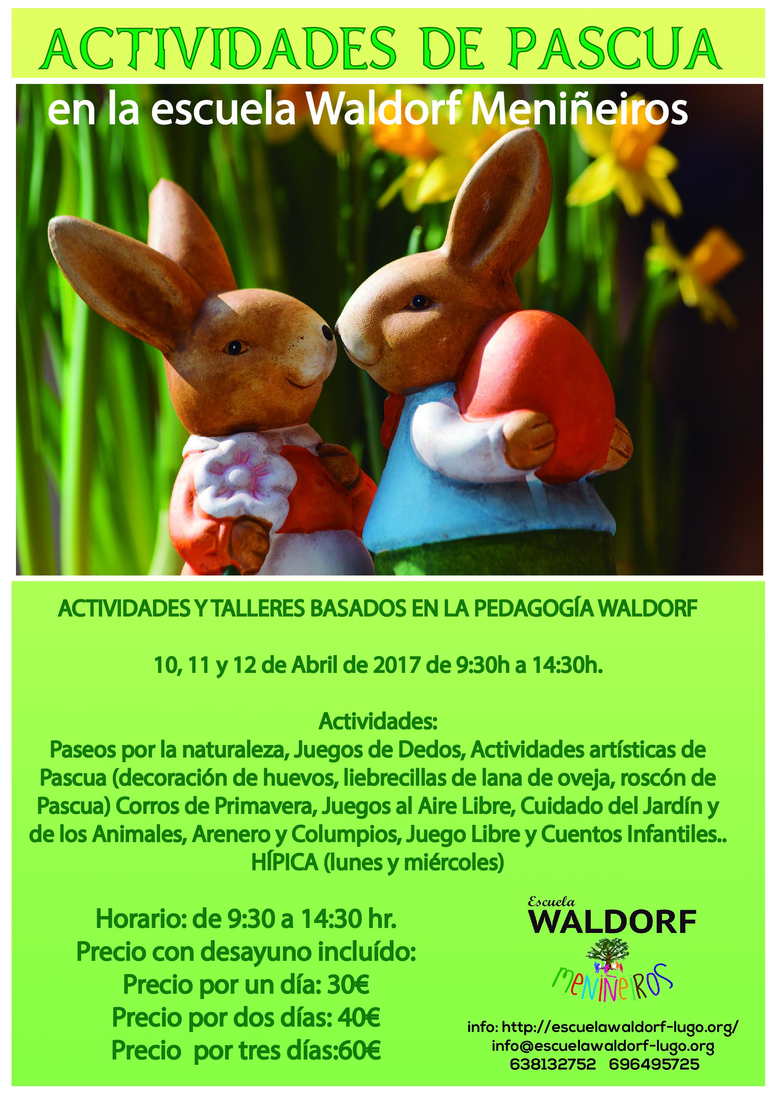 Actividades De Pascua En La Escuela Walddorf Menineiros Escuela