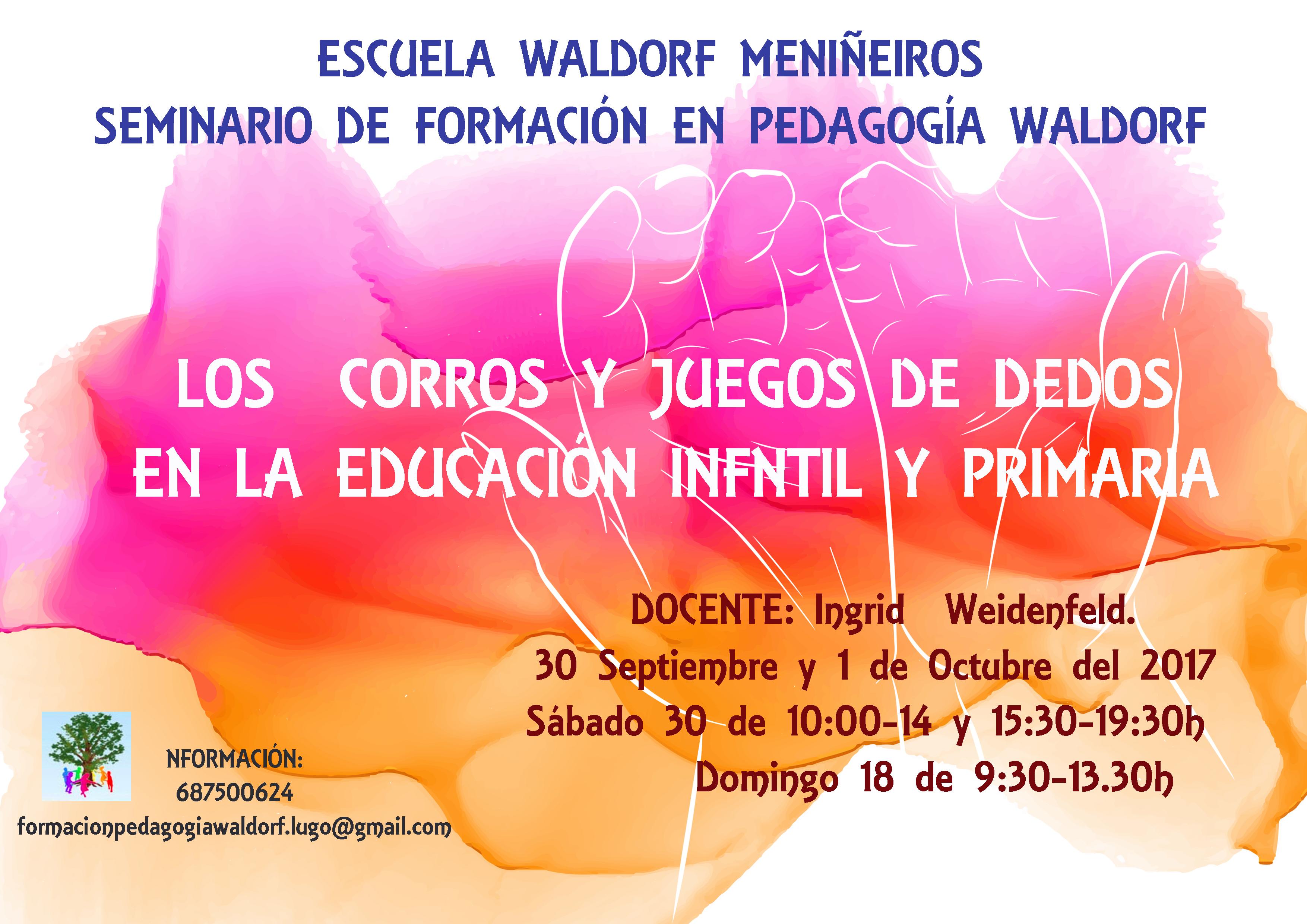 Seminario De Formacion En Pedagogia Waldorf Septiembre Escuela