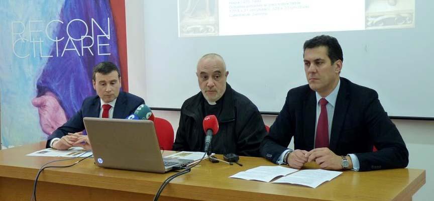 Presentación de las piezas en Zamora.