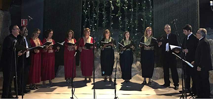 Coro Elí Hoshaná de Lucena.