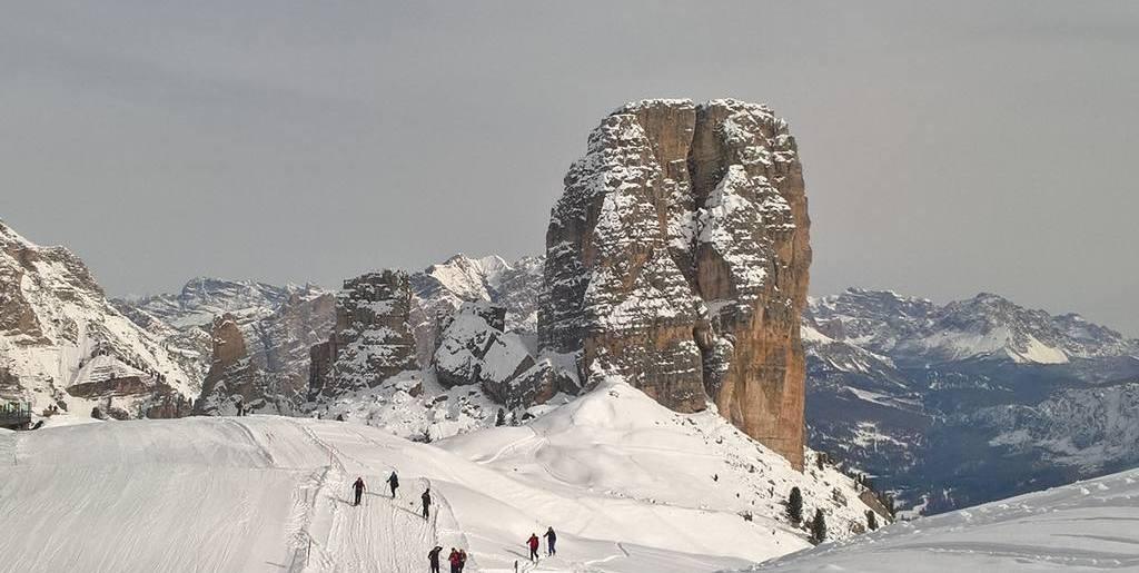 Sci-Alpinismo sulle 5 Torri