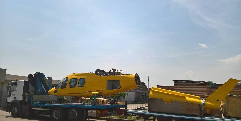Nuovo Agusta A-109 a Belluno