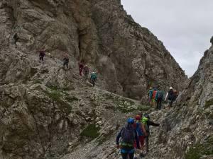 Forcelleta di acesso al Sentiero D' Ambros