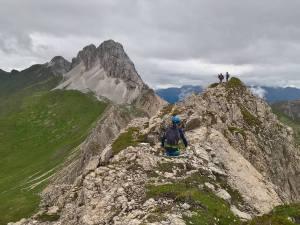 Le Creste della Pitturina con il Monte Cavallino in fondo