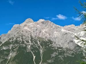 Panorama verso il Pulpito Alto e Cima Una