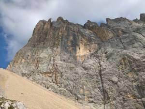 Marmolada e contrafforti del Monte Penia