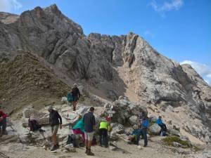 Passo De Ombreta (2702 m) e monti di Ombreta