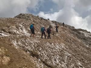 Pochi metri alla Cima Ombreta (3011 m)