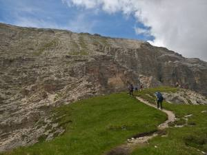 Ascensione al Col Dla Pieres