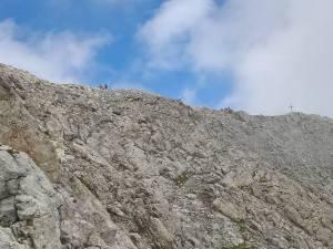 In vista della Cresta del Peralba