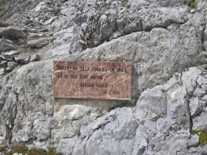 Forza là sulla Cima c' è la croce, là devo andare. Giovanni Paolo II 20-07-1988