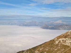 Mare di nuvole in Val Belluna