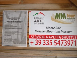 Mauro Menardi cell. 327-5532091 Servizio Navetta per il Monte Rite