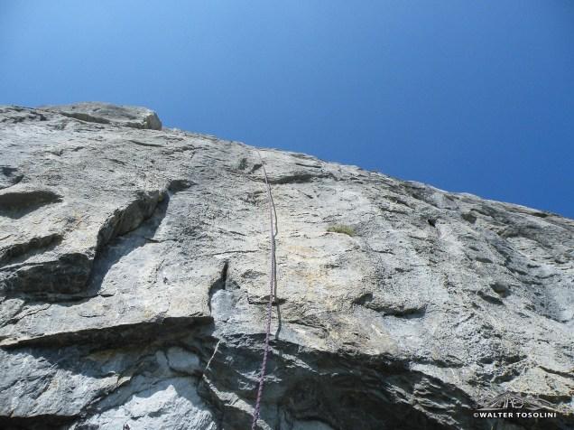 Palestra di roccia sull'avostanis