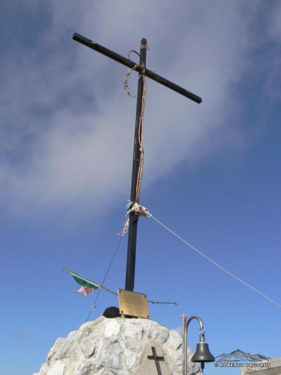 Croce di vetta, Creta di Timau