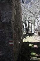 indicazioni CAI sulle case fantasma di Palcoda