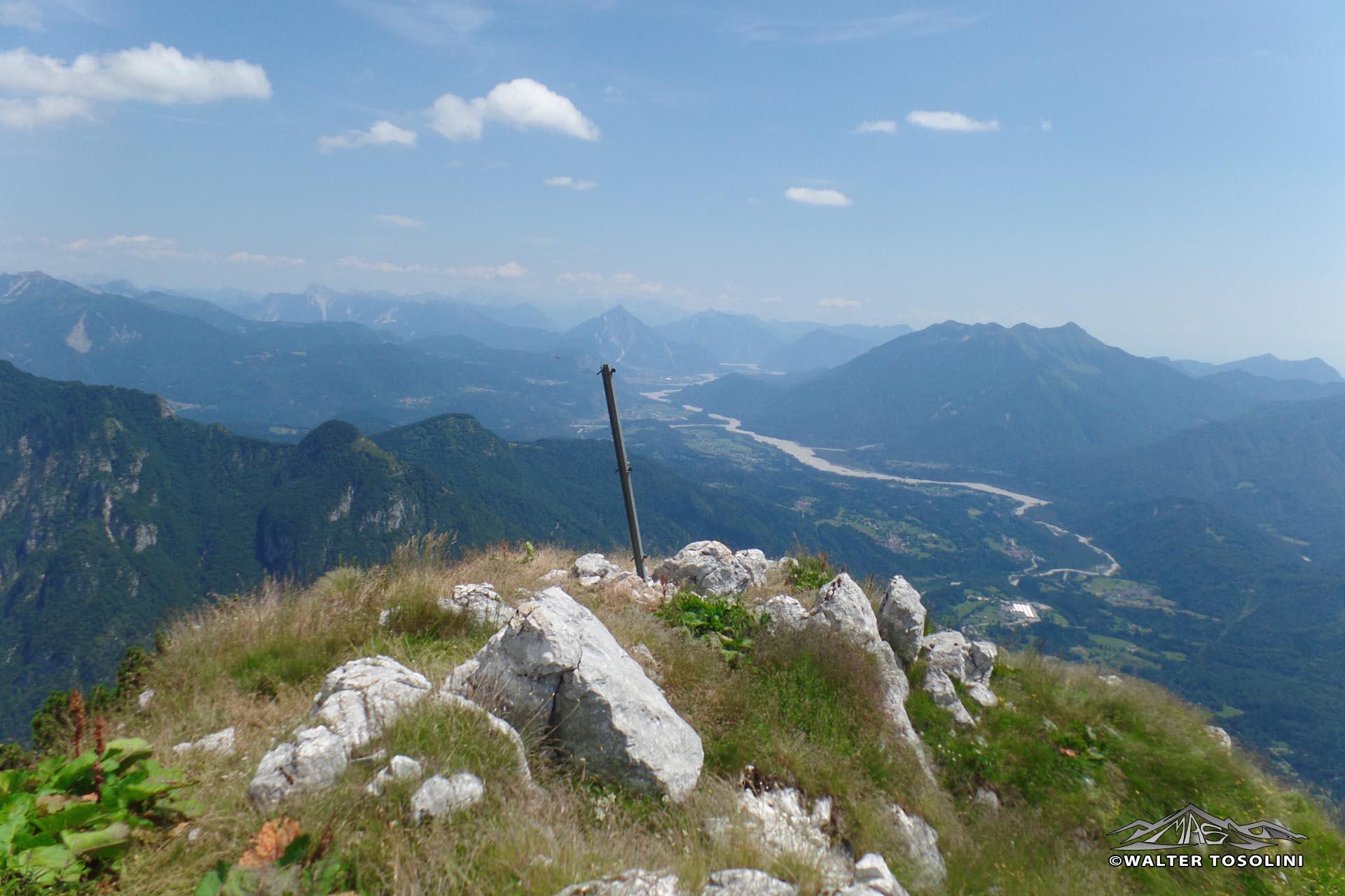Monte Colmaier e Sesilis dal Pura