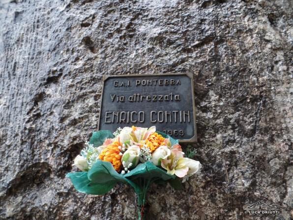 Targa in ricordo di Enrico Contini