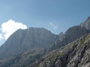 Il Monte Forato in lontananza