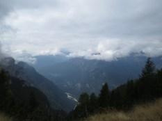 vista verso il Veneto