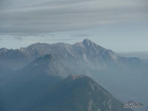 Vista sul versante Sloveno