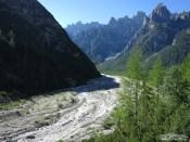 Val Postegae verso valle