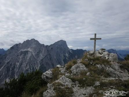 croce sul monte Vualt