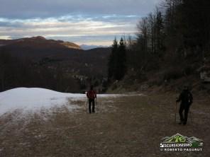 Sulla pista da sci