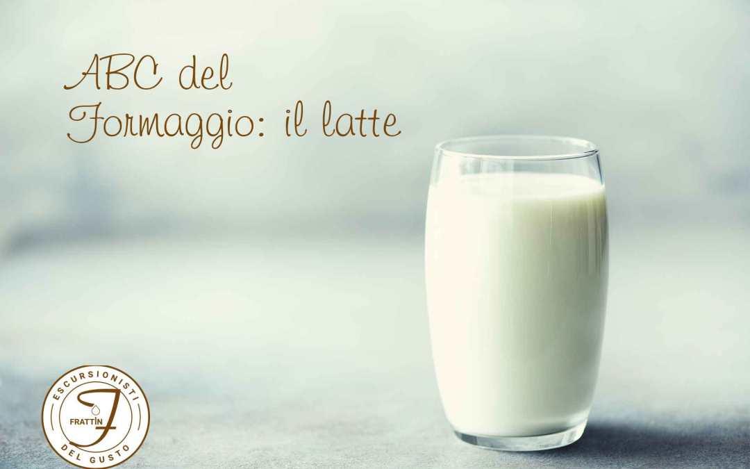 L'inizio del formaggio: il latte