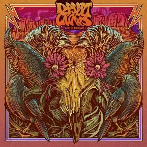 "Capa do álbum ""Age Of Despair"" do trio stoner Desert Crows"