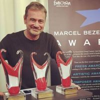 The winners of Marcel Bezençon Awards