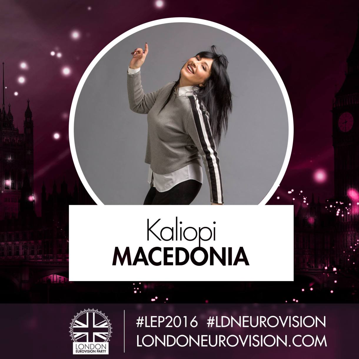 Kaliopi / Macedonia - London Eurovision Party 2016