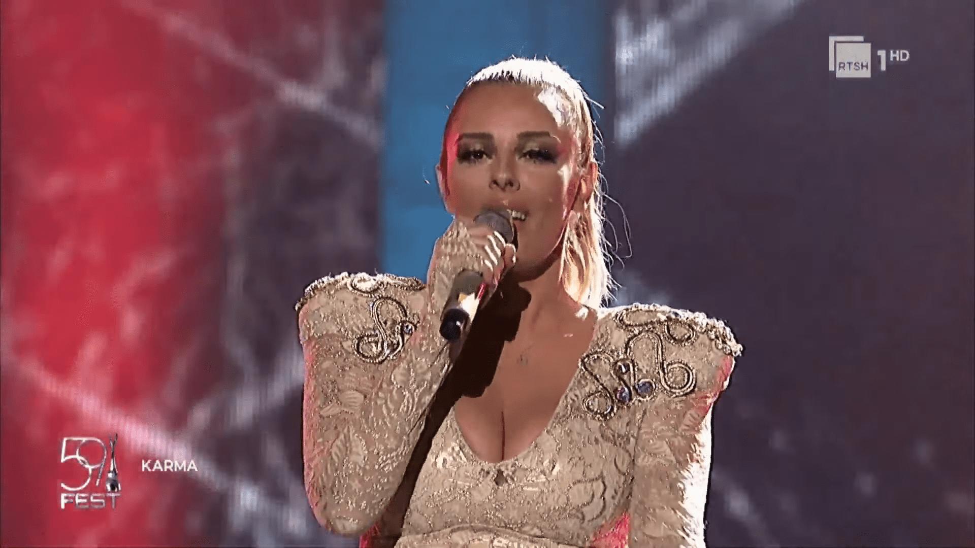 🇦🇱 Anxhela Peristeri will represent Albania at the 2021 Eurovision Song Contest