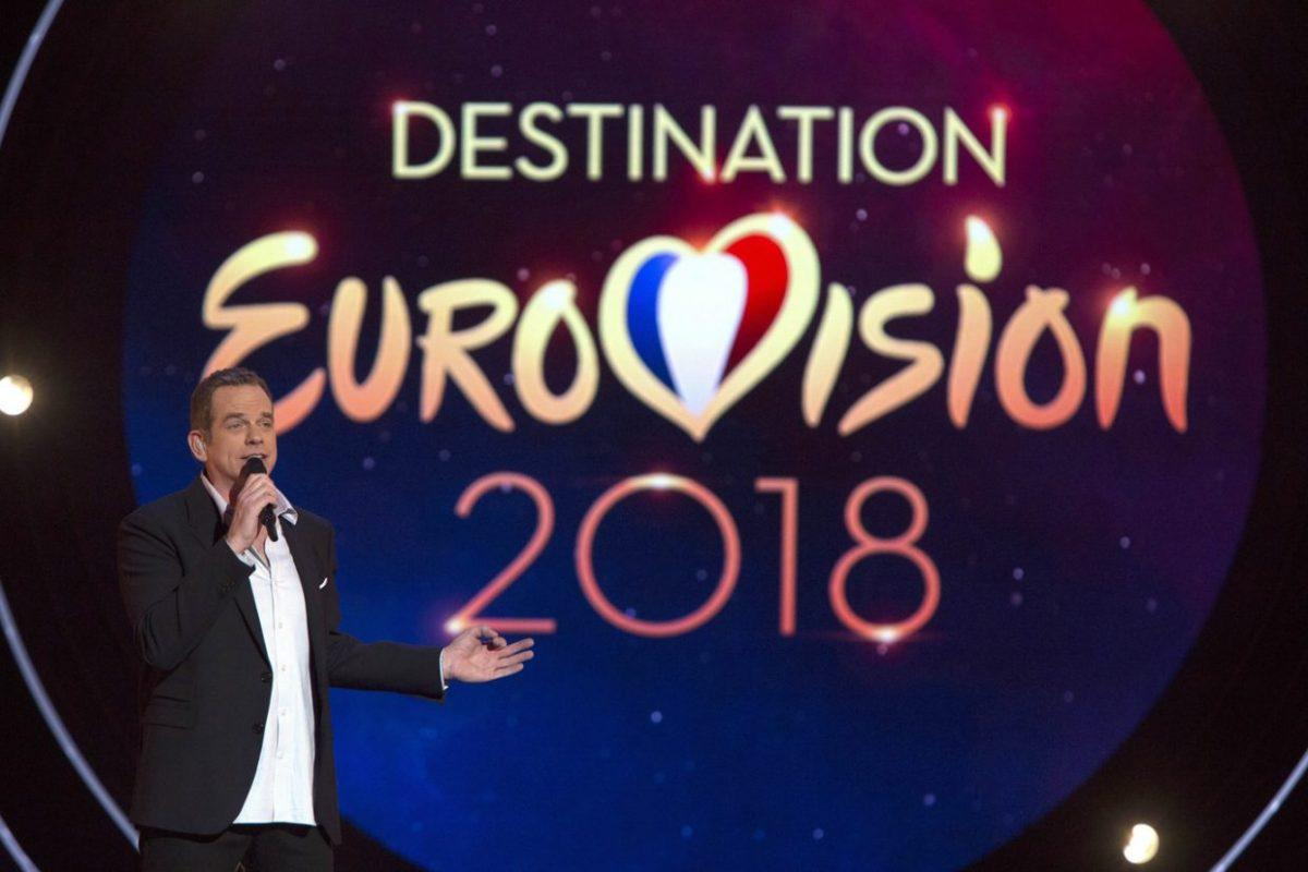 Garou presents Destination Eurovision