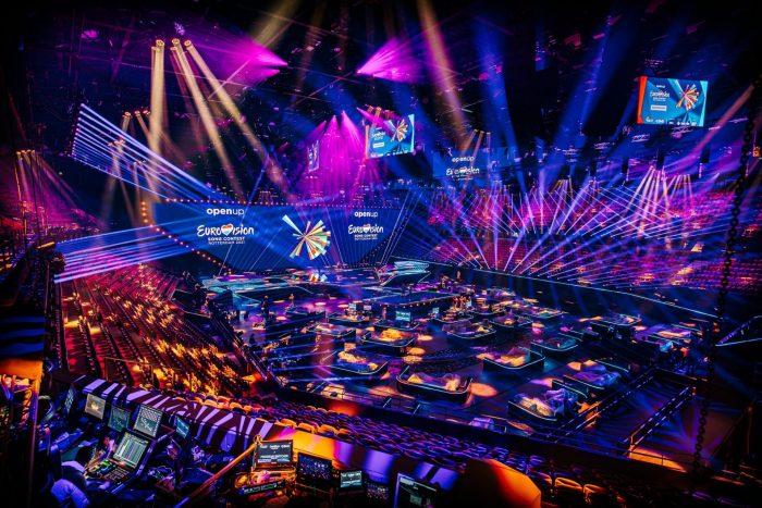 Eurovision 2021 stage
