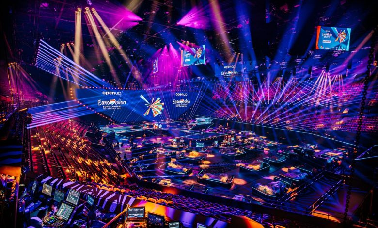 Eurovision 2021 stage
