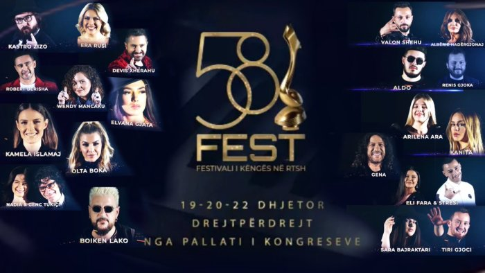 Albania Festivali i Këngës 58