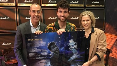 Photo of 🇳🇱 Rotterdam Ahoy renames a part of the arena in honour of Duncan Laurence