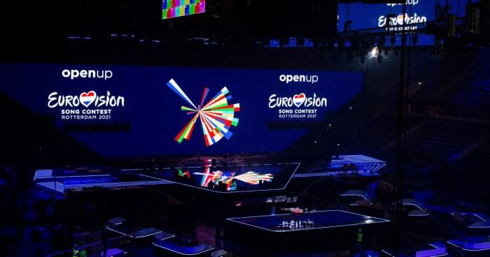Preparing for Eurovision 2021 in Ahoy Rotterdam