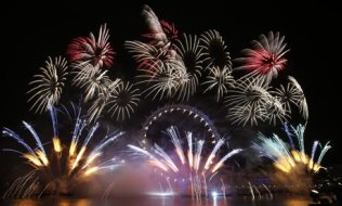 New Year's Eve celebrations, London, Britain - 31 Dec 2012