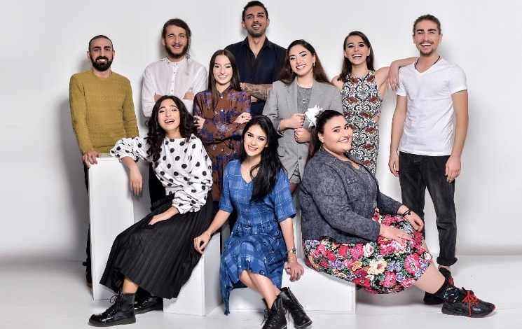 Georgian Idol finalists