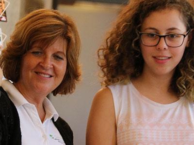 Julie Wood of Eseedling helping young people