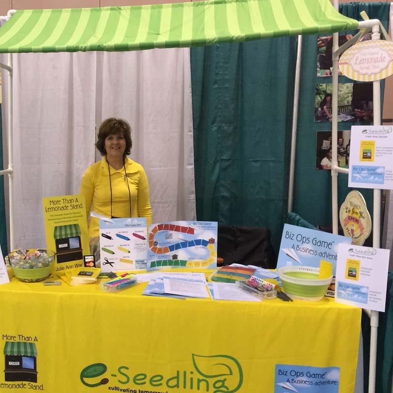 Julie Ann Wood is creator of More Than a Lemonade Stand