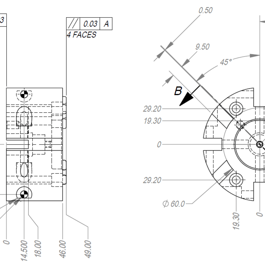 Detail Drawing Ese Llc Engineering Support For Manufacturing