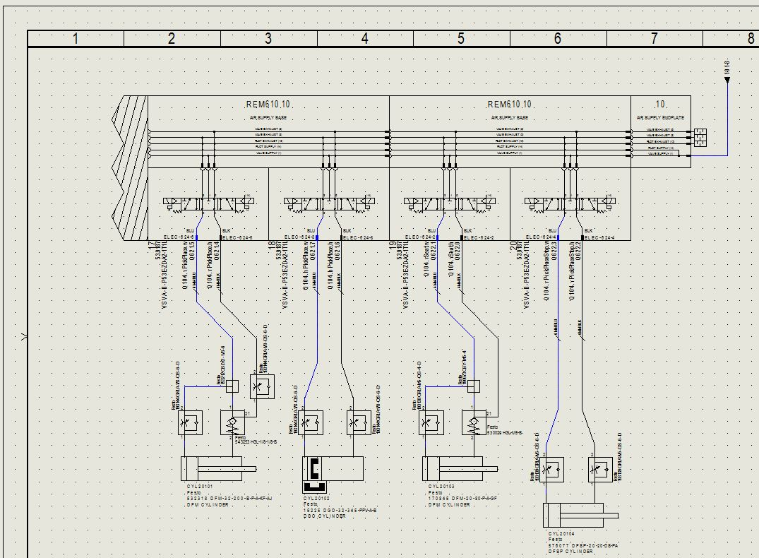 Valve Manifold Pneumatic Schematic Ese Llc Engineering