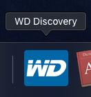 Icono de WD Discovery