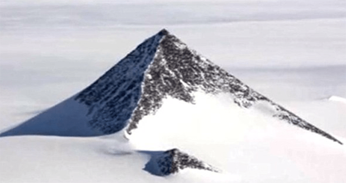 Existem pirâmides antigas na Antártica?